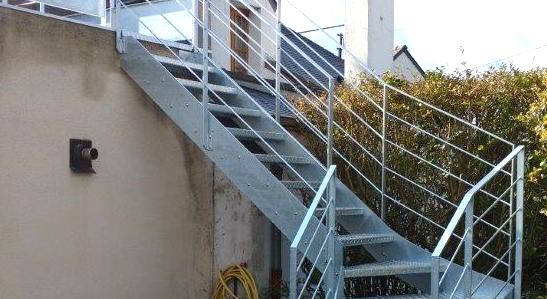 escalier aménagements extérieurs