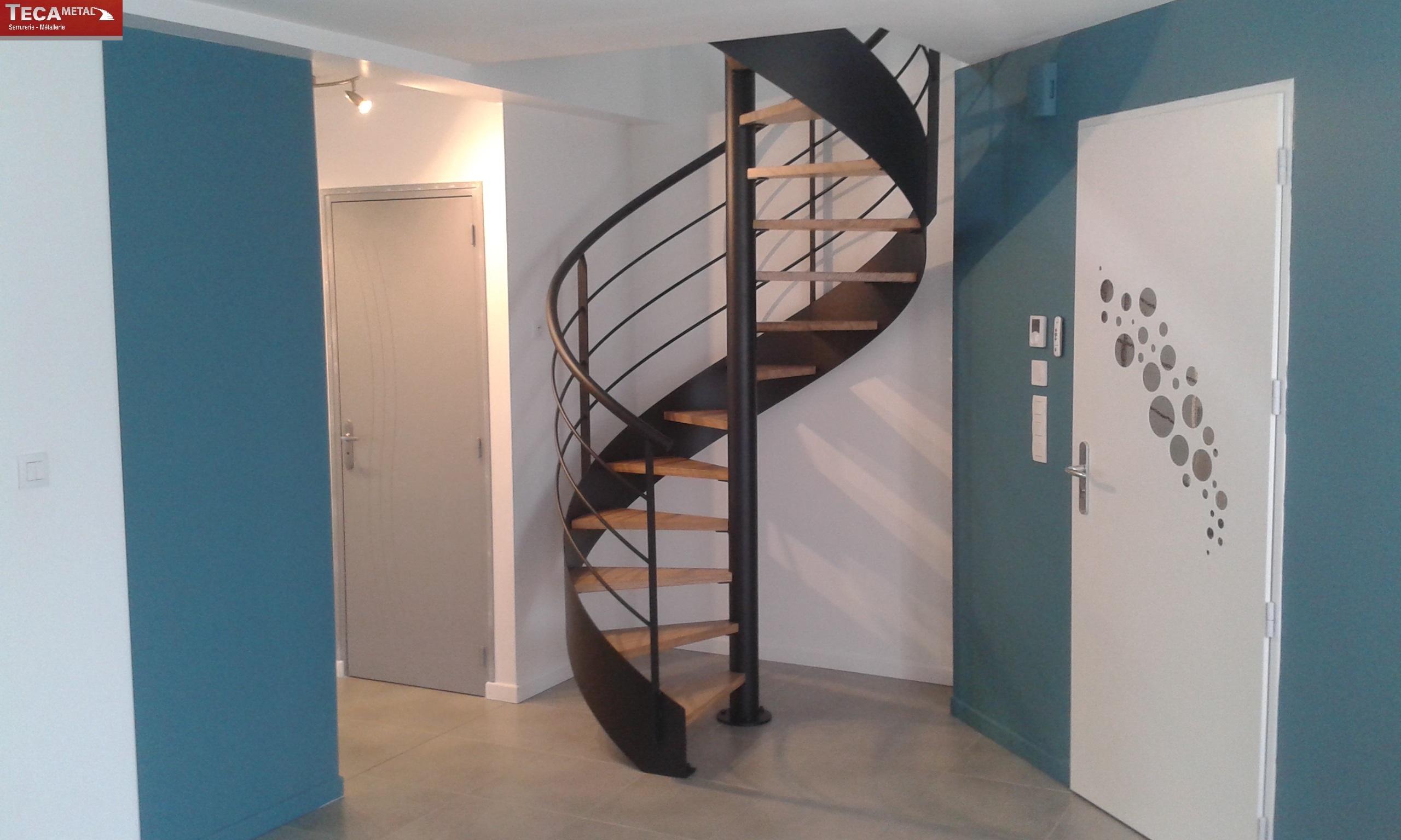 escalier en colimacon qui bouge